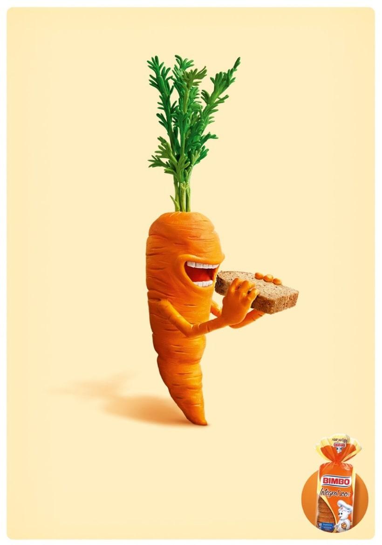 Vegetales Pan Bimbo  2