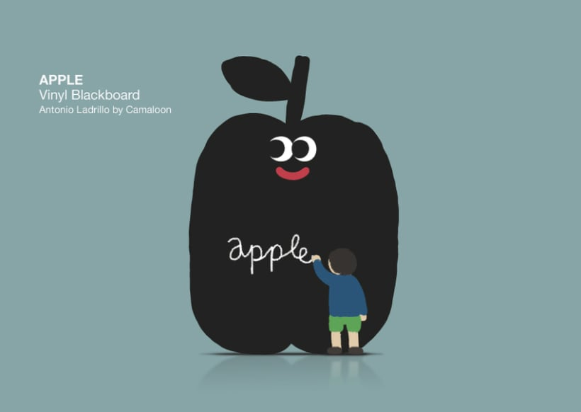 Vynil Blackboard 0