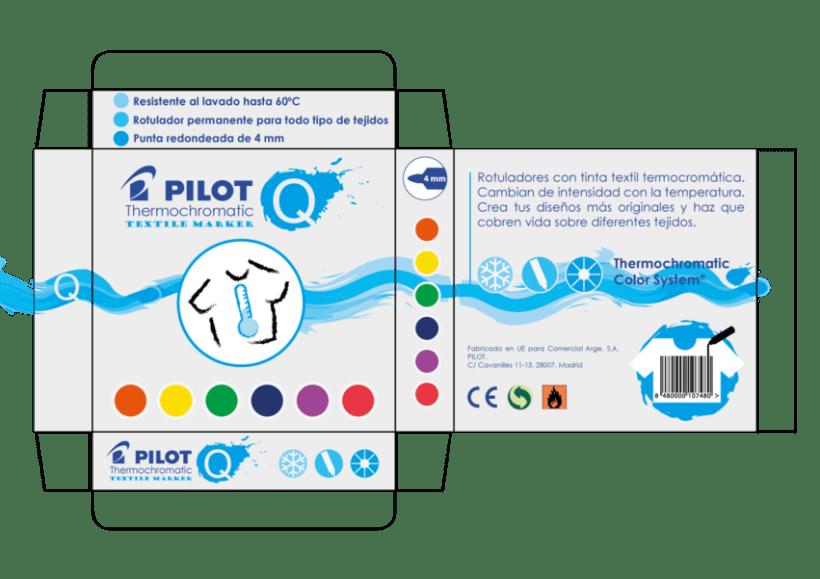 Diseño de Rotulador Termocromático de Pilot - Colaboración con Nowe Creative 3