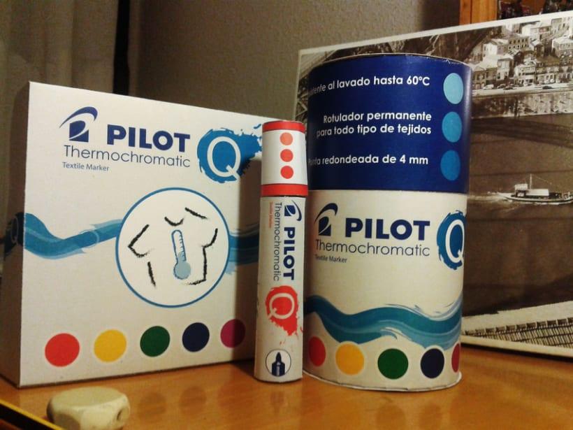 Diseño de Rotulador Termocromático de Pilot - Colaboración con Nowe Creative 4