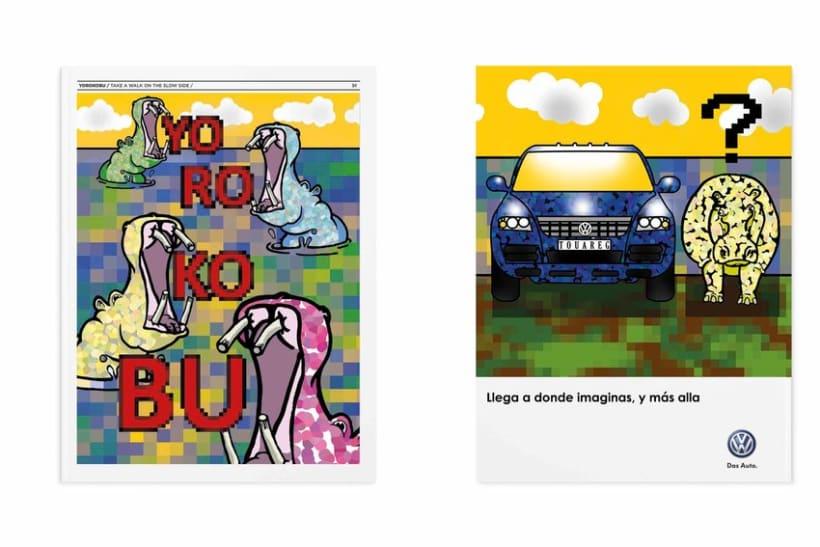 Concurso portada y contraportada revista Yorokobu Febrero 2014 ( Hazlo tu) 0