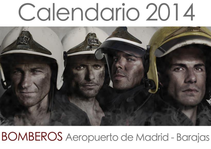Calendario Benéfico Banco de Alimentos de Madrid. 0