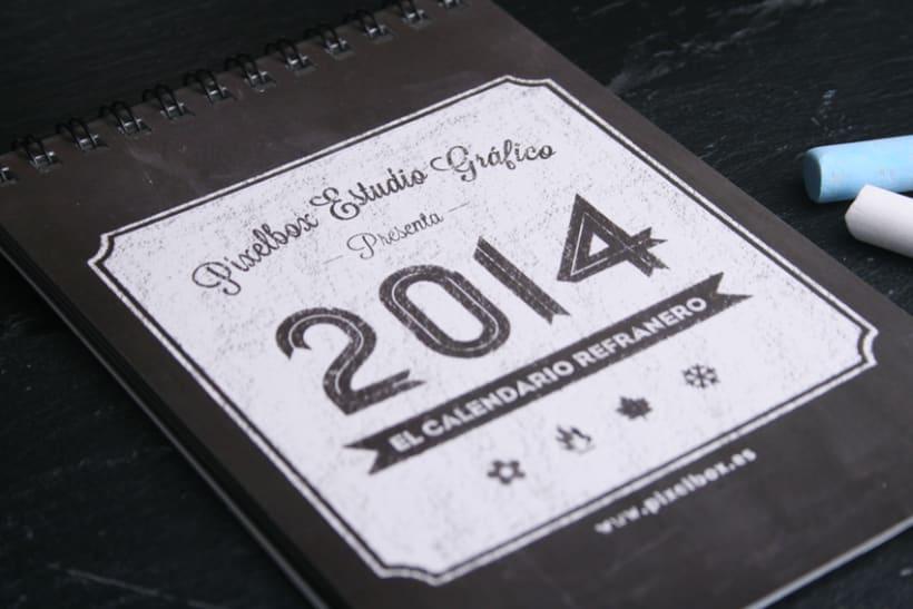 Calendario Refranero 2014 0