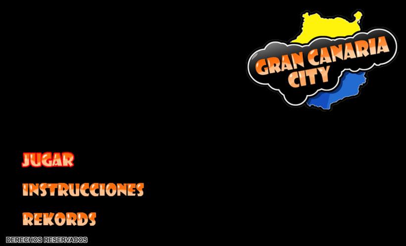 Gran Canaria City - Juego online publicitario 1