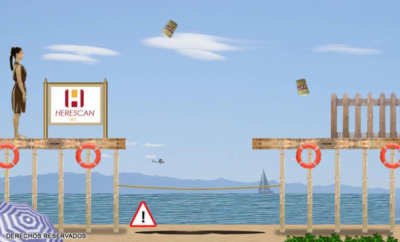 Gran Canaria City - Juego online publicitario 5