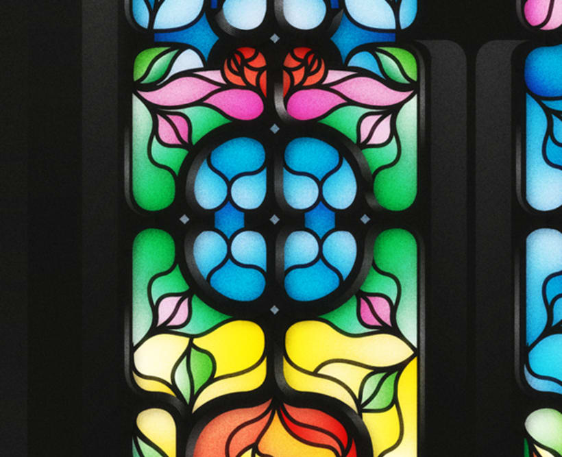 Yorokobu - Stain Glass 5