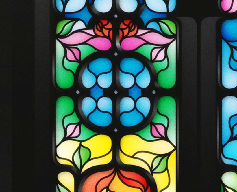Yorokobu - Stain Glass 5