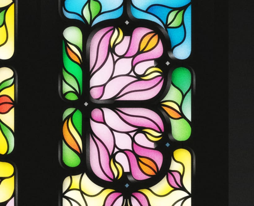 Yorokobu - Stain Glass 7