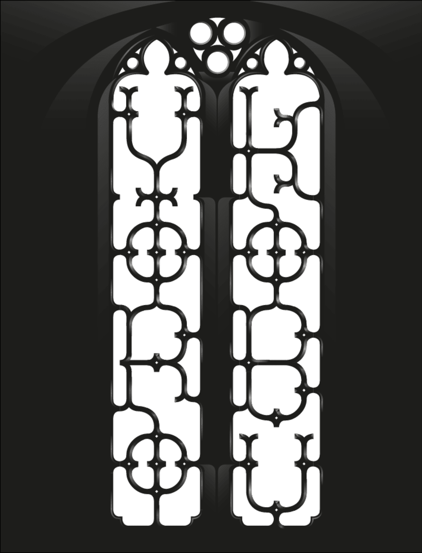 Yorokobu - Stain Glass 9