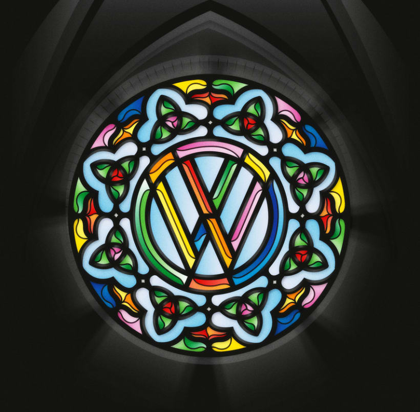 Yorokobu - Stain Glass 12
