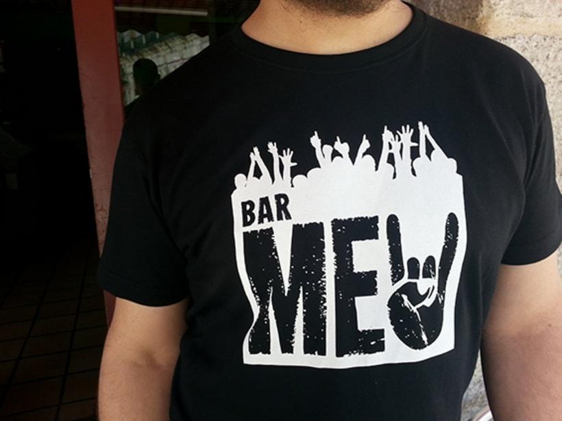 Identidade corporativa bar Meu 1