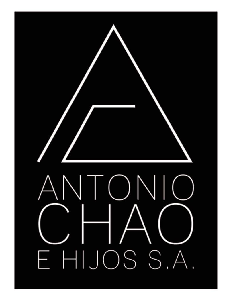 Identidade Corporativa Antonio Chao e Hijos S.A. 0