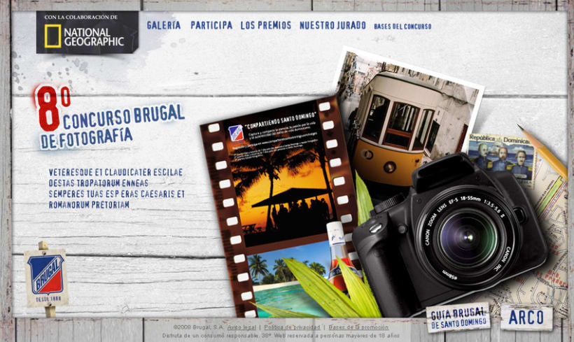 Microsite Brugal + National Geographic 1
