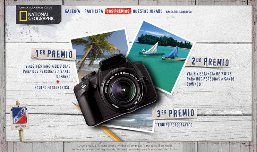 Microsite Brugal + National Geographic 6