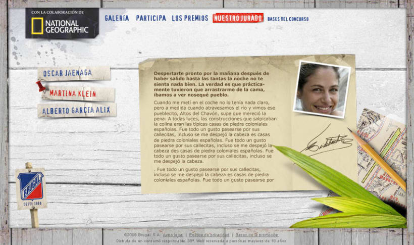 Microsite Brugal + National Geographic 7
