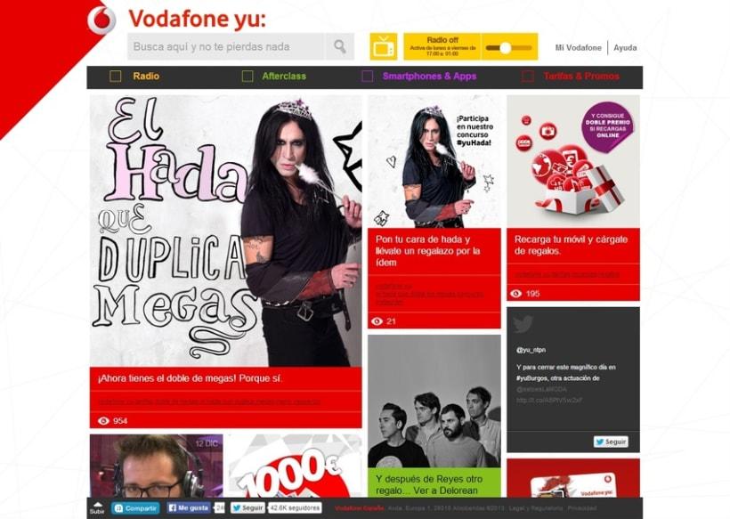 Vodafone yu: -1