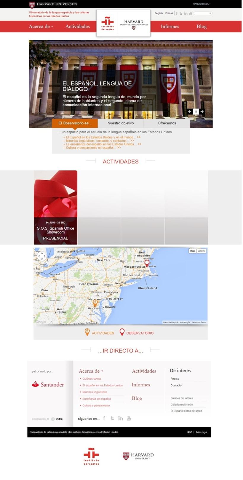 Observatorio de la Lengua española en la Universidad de Harvard -1