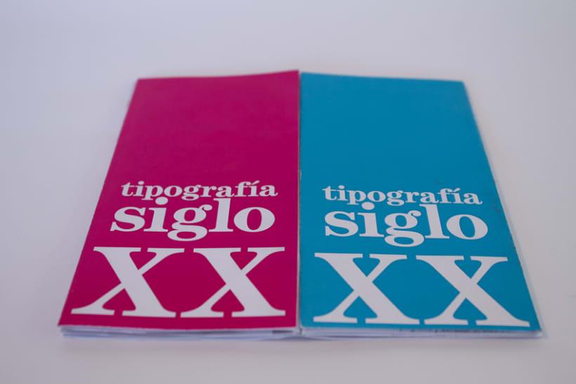 Tipografía Siglo XX 1
