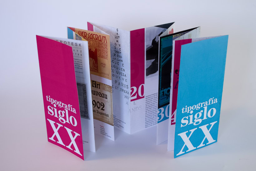 Tipografía Siglo XX 2
