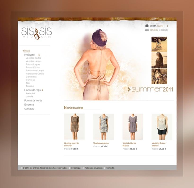 Sis & Sis. Web 0