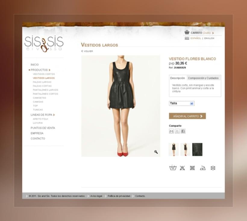 Sis & Sis. Web 2
