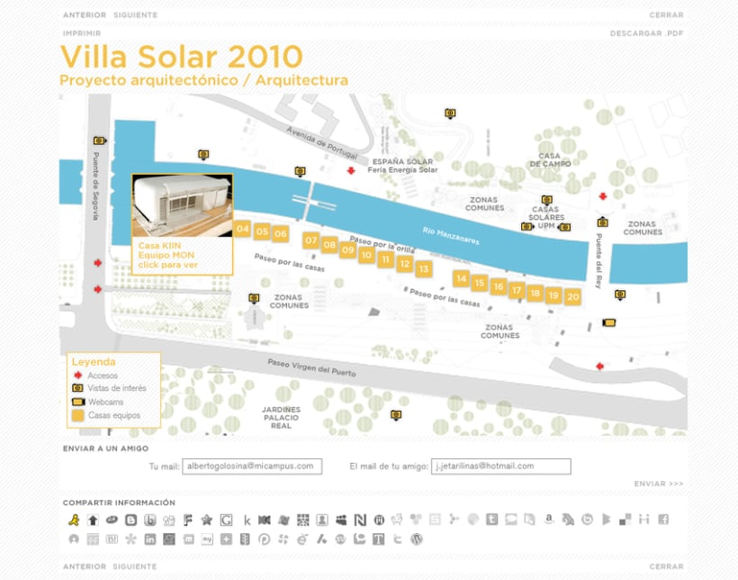 Website Solar Decathlon Europe 2