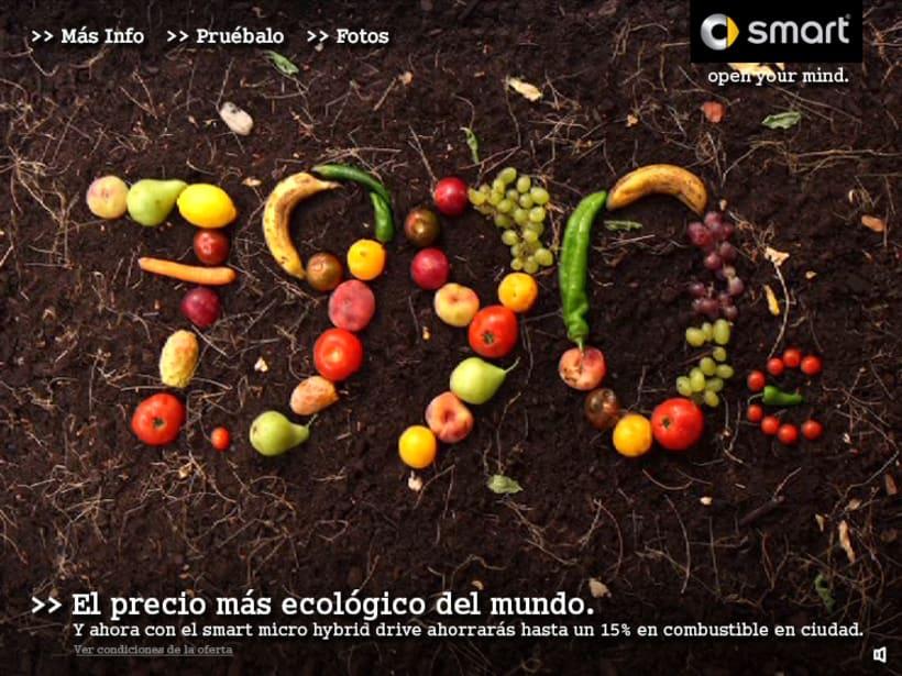 """Microsite smart """"El precio mas ecológico"""" 1"""