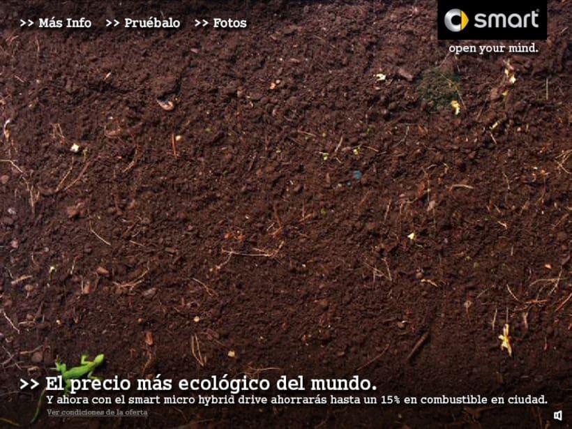 """Microsite smart """"El precio mas ecológico"""" 3"""