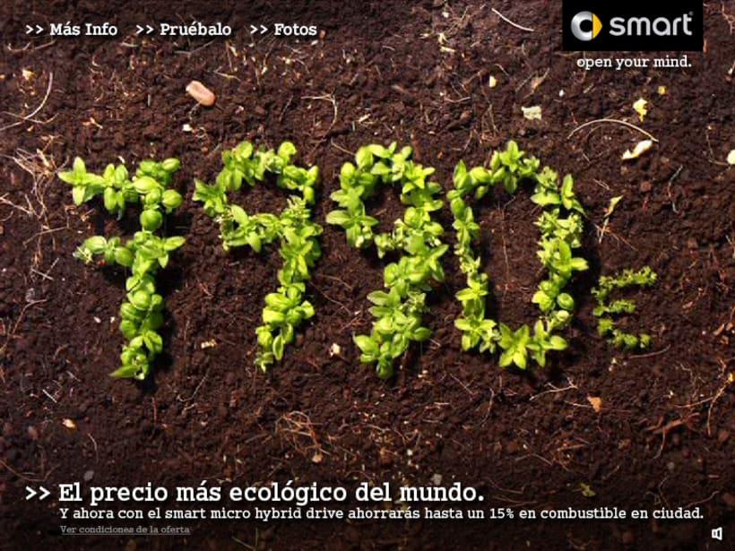 """Microsite smart """"El precio mas ecológico"""" 4"""