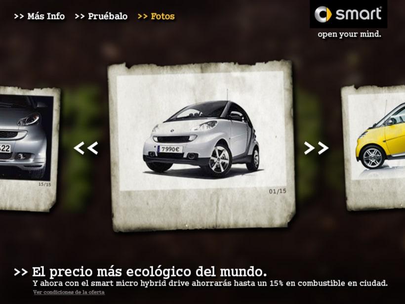 """Microsite smart """"El precio mas ecológico"""" 5"""