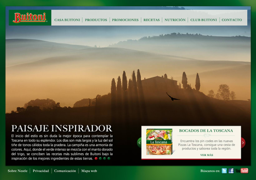 Website Buitoni 1