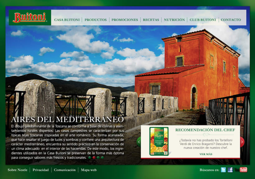 Website Buitoni 2