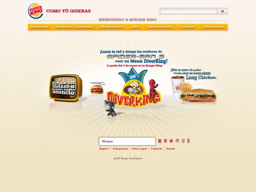 Website Burger King 1