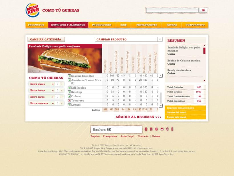 Website Burger King 3