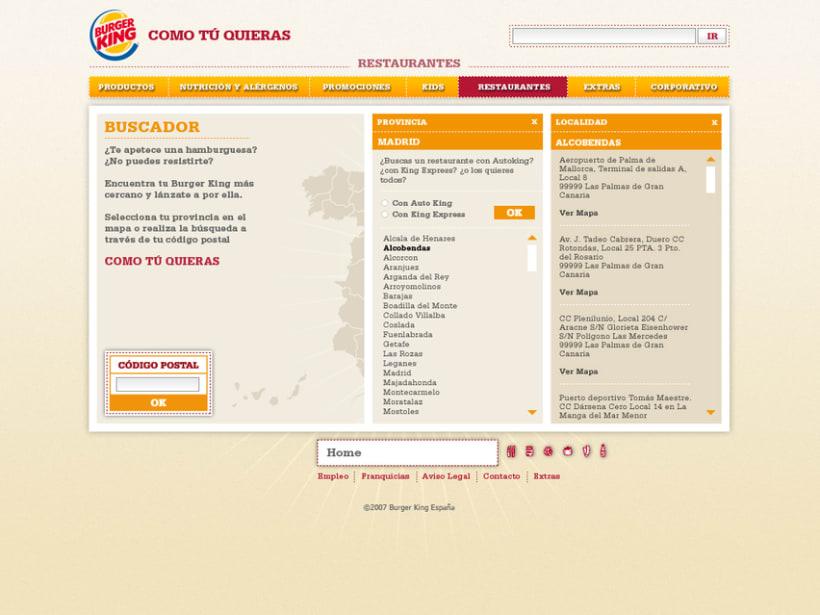 Website Burger King 4