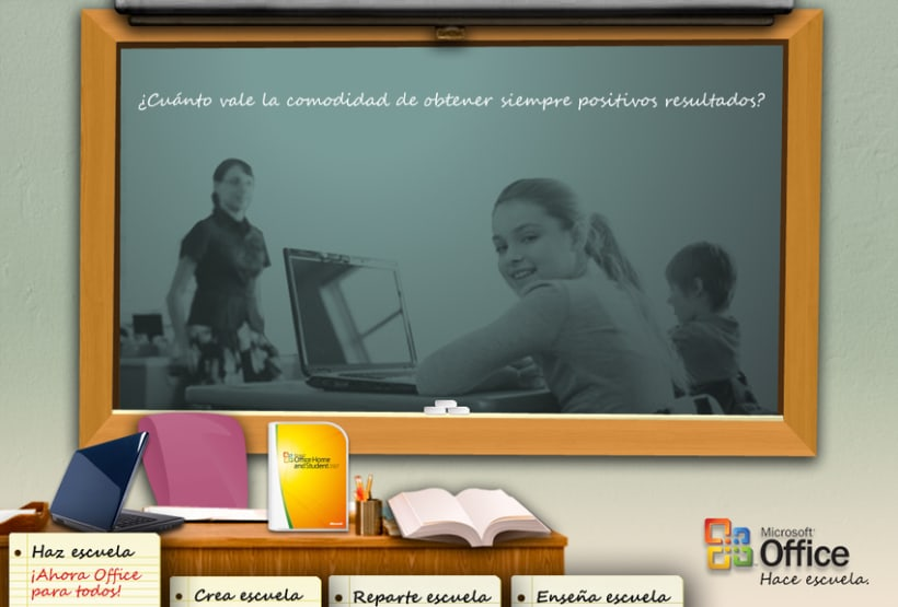 Microsite Microsoft Office 1