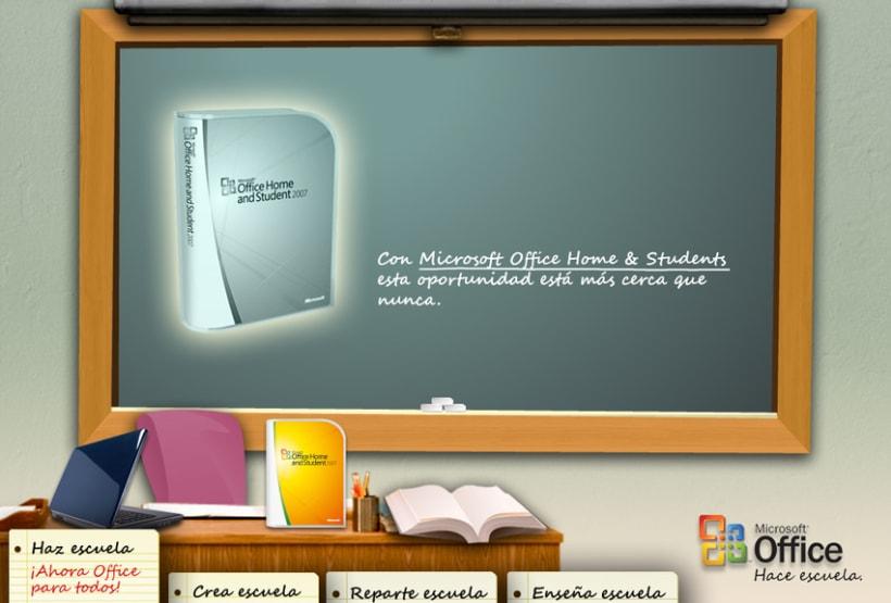 Microsite Microsoft Office 2