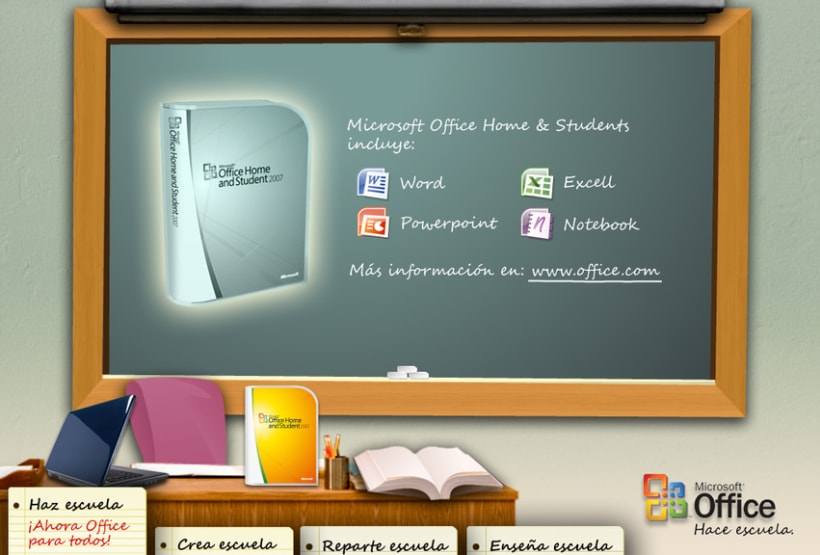 Microsite Microsoft Office 3