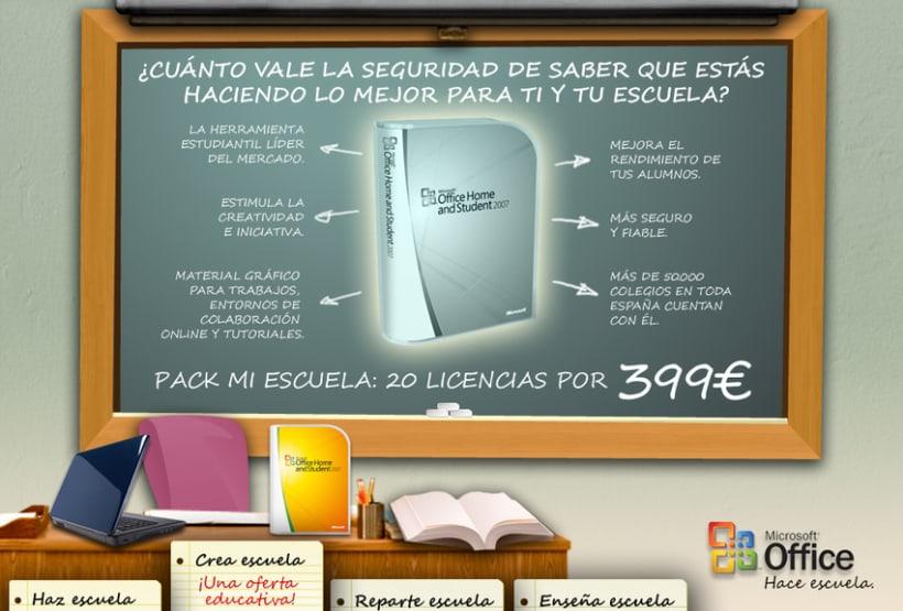 Microsite Microsoft Office 4