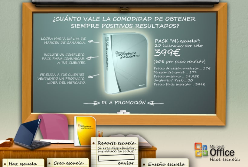 Microsite Microsoft Office 5