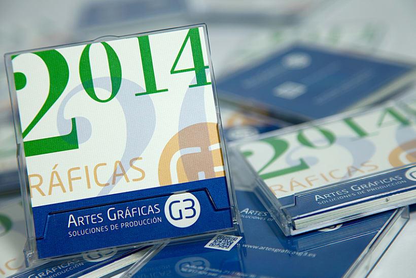 Calendario y Agenda Solidaria G3 para 2014 4