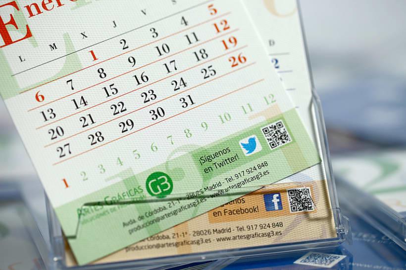 Calendario y Agenda Solidaria G3 para 2014 3
