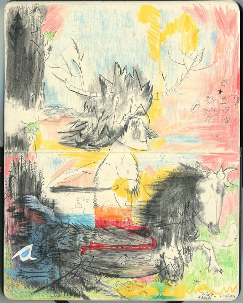 Dibujos en Libretas II 0