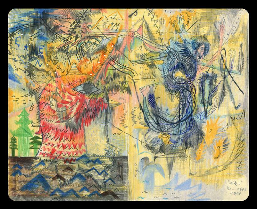 Dibujos en Libretas II 3