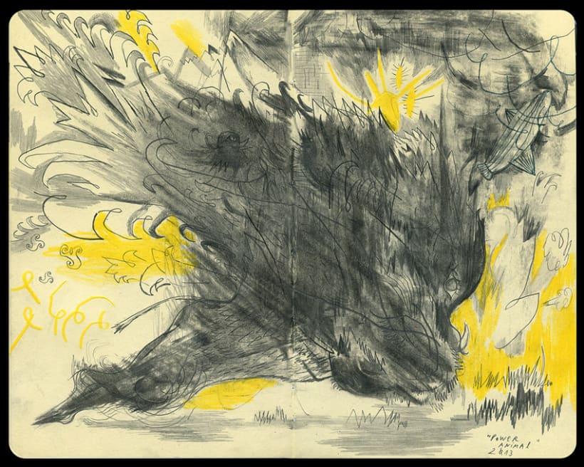 Dibujos en Libretas II 6