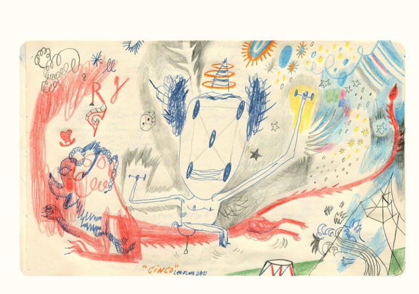 Dibujos en Libretas II 7