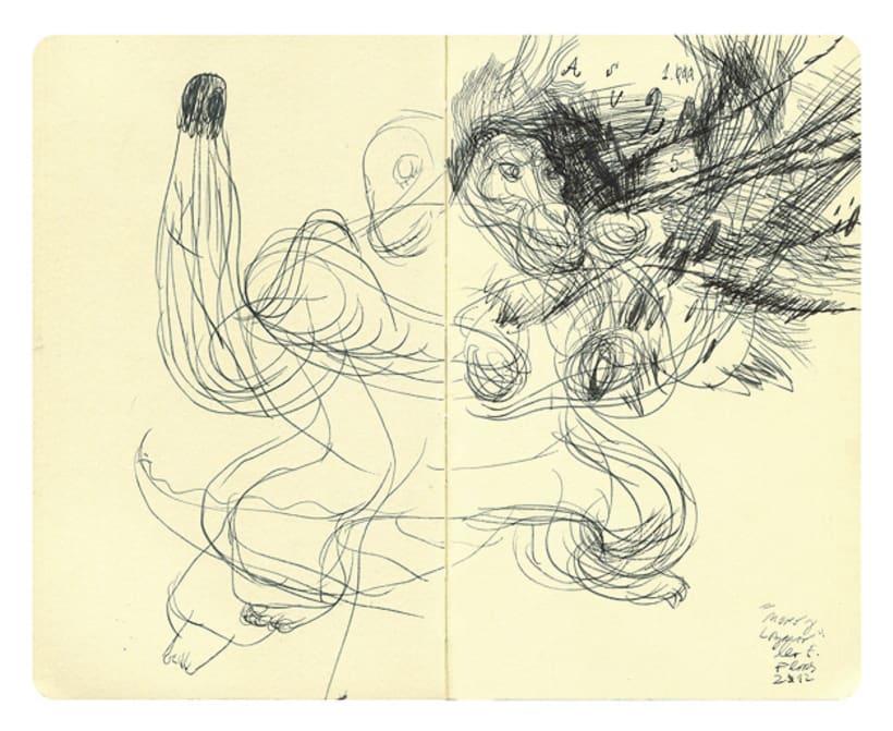 Dibujos en Libretas II 4