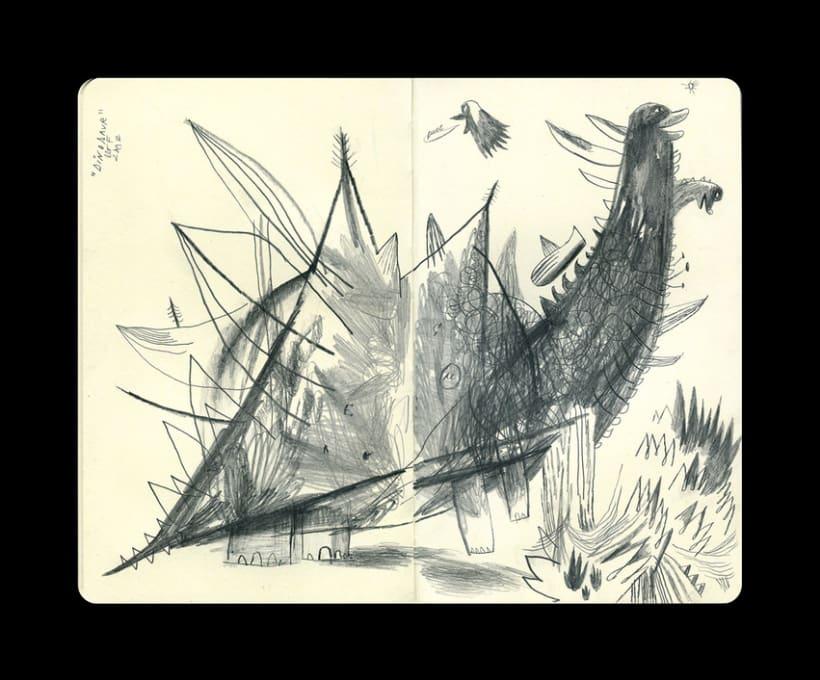 Dibujos en Libretas II 8