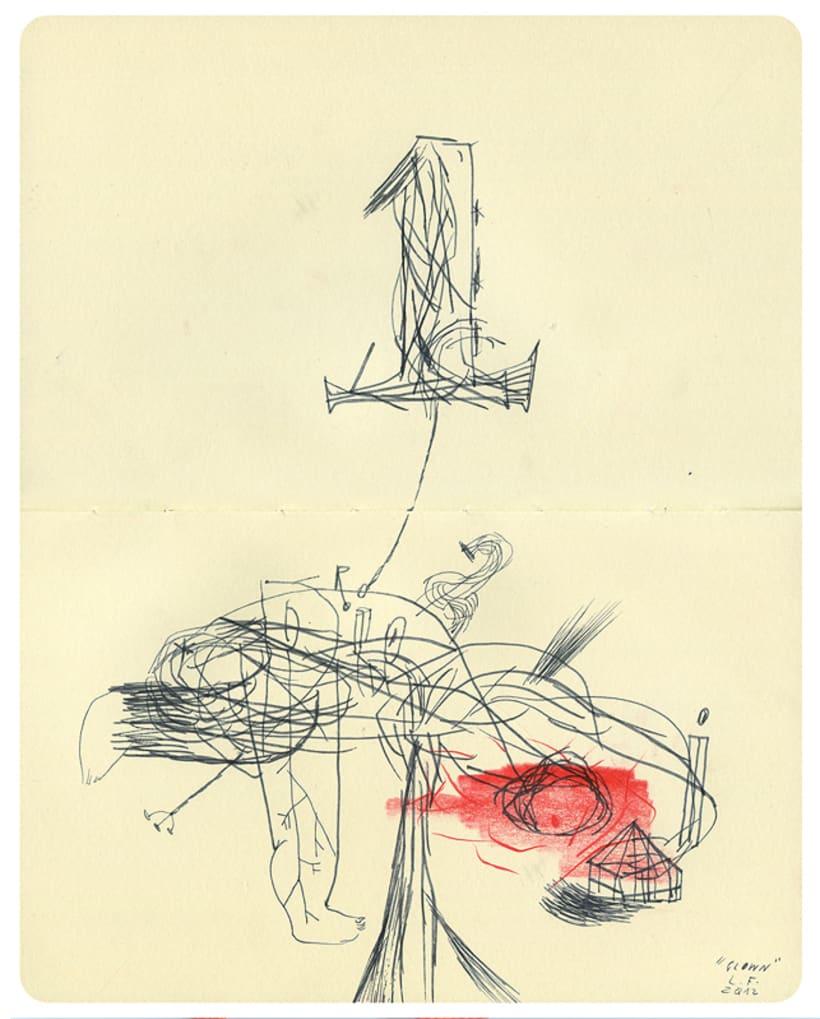 Dibujos en Libretas II 11