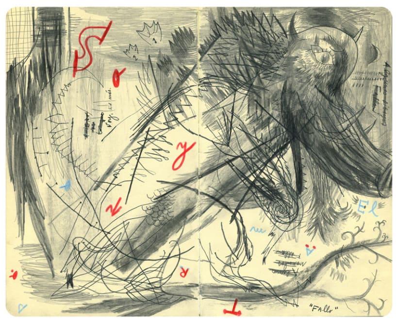 Dibujos en Libretas II 14